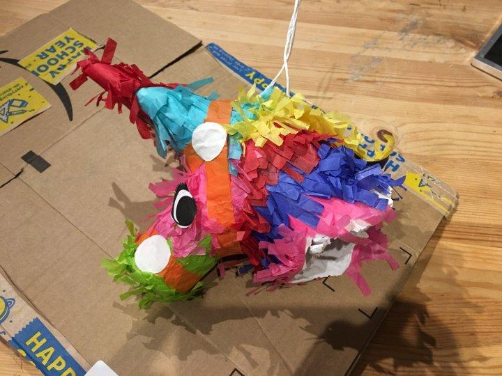 Donkey piñata head